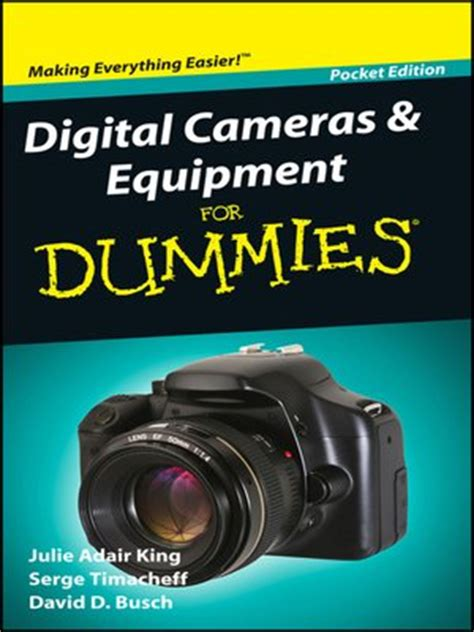 portable edition series 183 overdrive ebooks audiobooks digital cameras and equipment for dummies 174 by julie adair