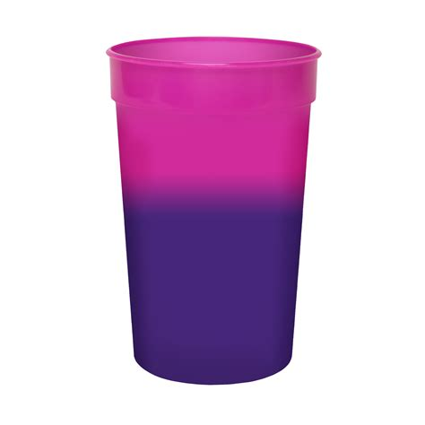 color changing cup 22oz reusable mood color changing stadium cup progress