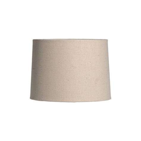 natural linen drum l shade 11 quot natural linen barrel shade by simon pearce