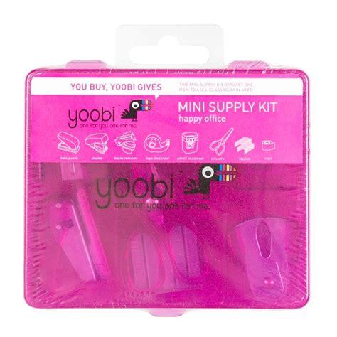 cute office supplies target yoobi mini office supply kit pink target