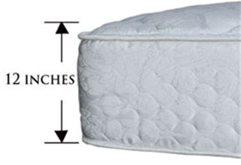 Futon Thickness by Murphy Bed Mattress