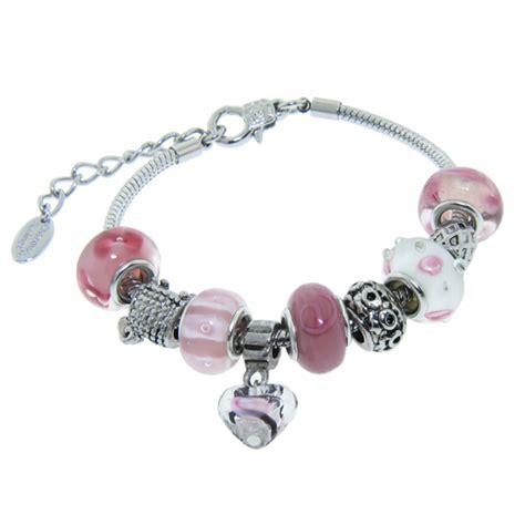 Charmed Feeling Murano Bead Bracelets