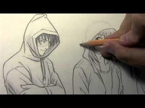 how to draw hoodies drawings of in hoodies www pixshark images