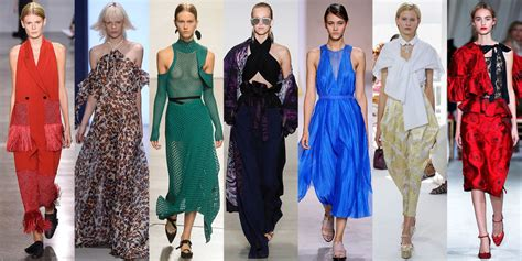 popular trends 2016 best summer fashion trends of 2016 runway fashion you