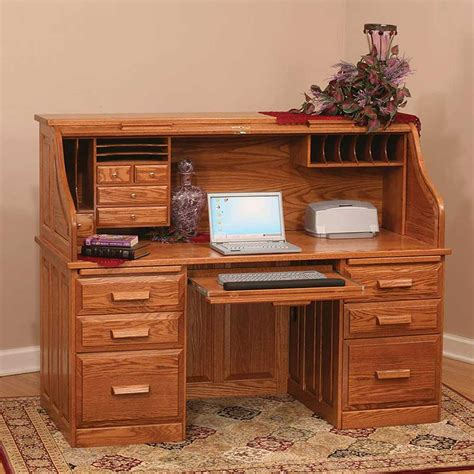 roll top computer desk designs useful roll top computer