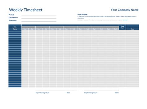 free timesheet templates collection clockshark