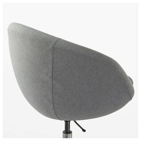 Skruvsta Swivel Chair Flackarp Grey Ikea Skruvsta Swivel Chair