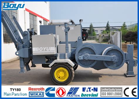 electric hydraulic cable puller machine  high