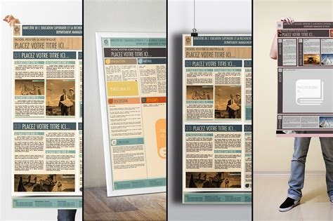le poster scientifique a0 powerpoint templates on behance