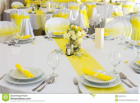 Wedding table decoration stock photo. Image of festive