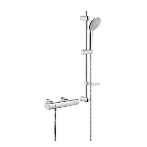 Grohe Shower Set by Grohe G1000 Cosmo Euphoria Shower Set Uk Bathrooms