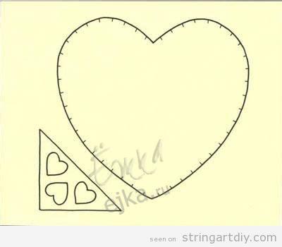 Heart Pattern String Art | card archives string art diystring art diy