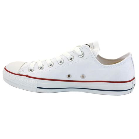 shoes ebay converse all chuck ox white unisex trainers