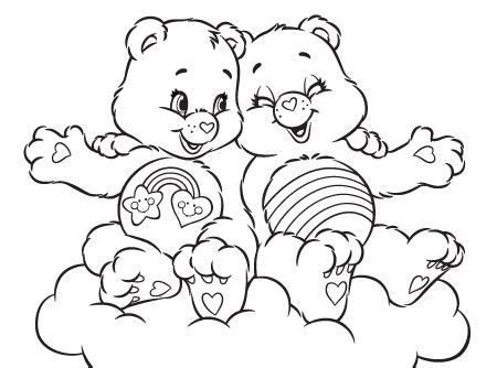 Printable Care Bears Coloring Pages Coloring Me Care Colouring Pages