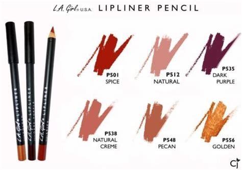 La Lipliner Pencil 1 la colors auto lip liner la matte lip liner