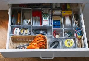 How To Organize In Drawers by Diy Saturday Junk Drawer Organization Ideas A