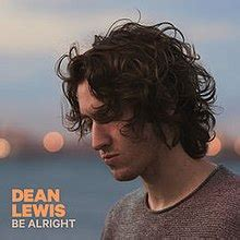 be alright (dean lewis song) wikipedia
