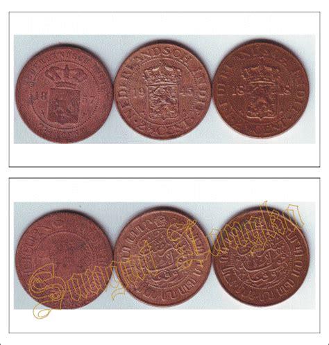 Uang Koin 2 1 2 Cent 1945 uang lama 123 uang koin