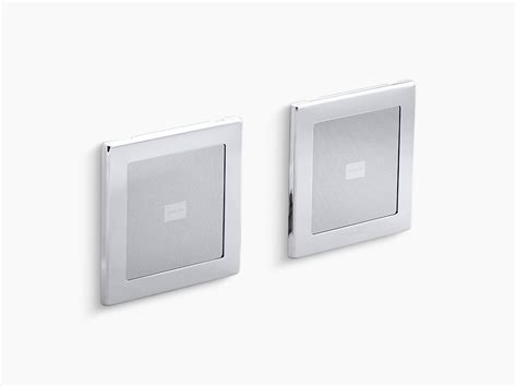 Kohlers Soundtile In Shower Speakers Make Singing In The Shower More by Soundtile Speakers Pair K 8033 Kohler