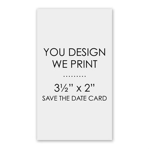 make save the date cards free you design we print 3 1 2 quot x 2 quot save the date card