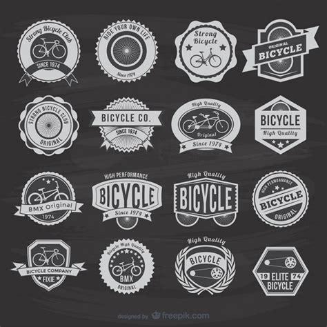 Fahrrad Logo Sticker by Vintage Bicycle Stickers Vector Free