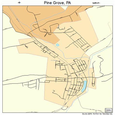 pine grove california map pine grove pa map