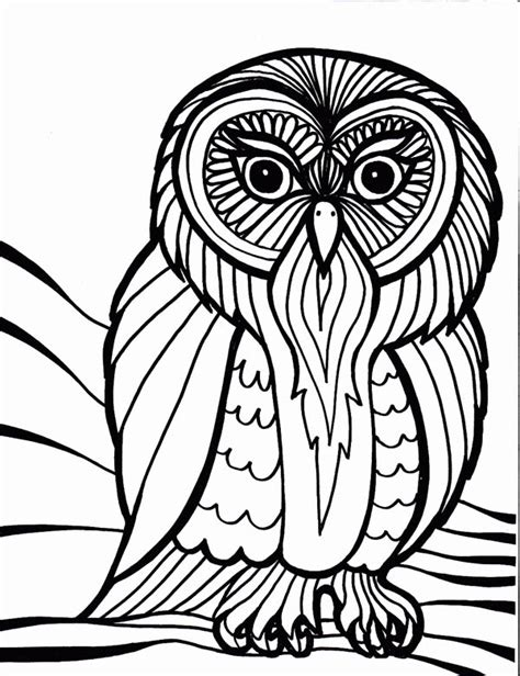 owl mosaic coloring page free coloring pages of owl mosaic