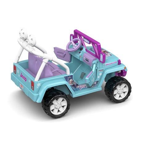 Fisher Price Power Wheels Disney Frozen Jeep Wrangler 12