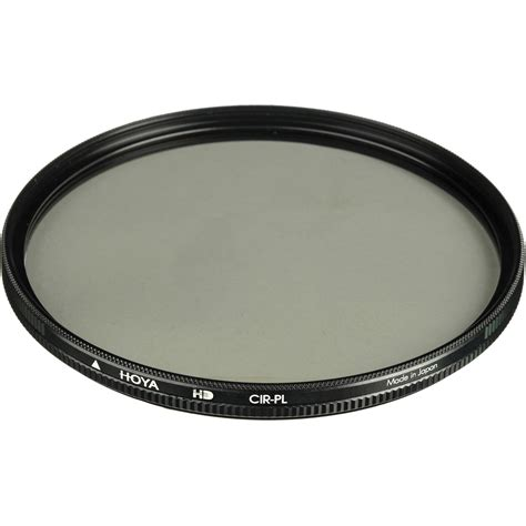 Optic Pro Filter Cpl 62mm hoya 62mm circular polarizing hd high density xhd62crpl b h