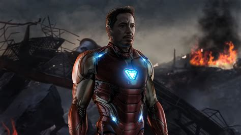 iron man avengers endgame hd movies wallpapers