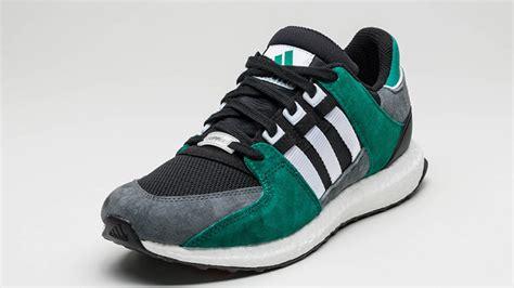 Adidas Eqt Black White adidas eqt support 93 16 black white green the sole supplier