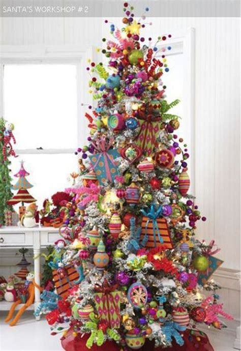 theme tree beautiful christmas trees and a link party celebrate