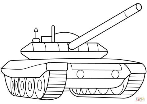 Tank Coloring Page Army Tank Coloring Pages For Kids Army Tank Coloring Page
