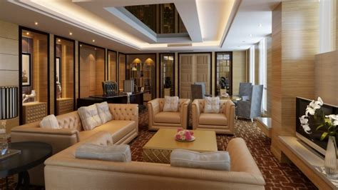 leather sofas  modern living room design