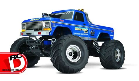 all bigfoot trucks bigfoot no 1 the original truck from traxxas rc