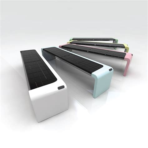 solar bench by owen song at coroflot com