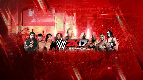 wwe youtube wwe 2k17 youtube channel art banners