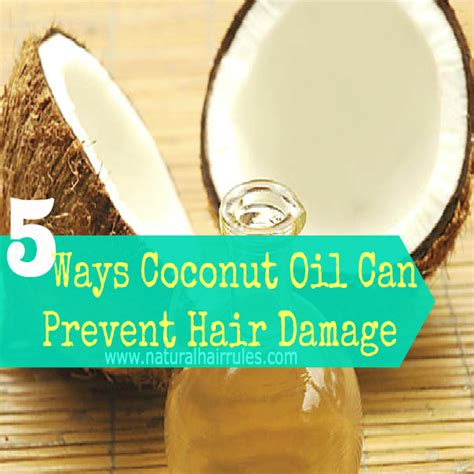 does coconut oil damage a perm 5 ways coconut oil can prevent hair damage natural hair