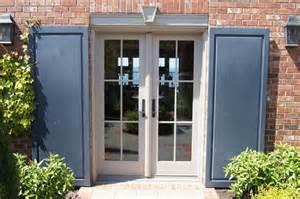 Door Shutters Exterior Door And Shutter Detail