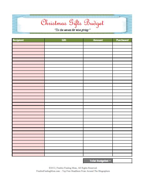 printable budget template free printable monthly budget worksheets