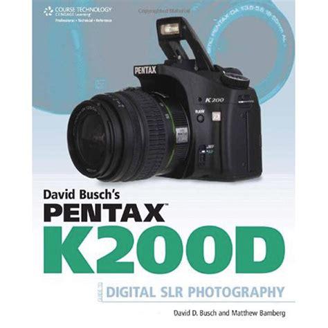 cengage course tech book david busch s pentax 9781598638028