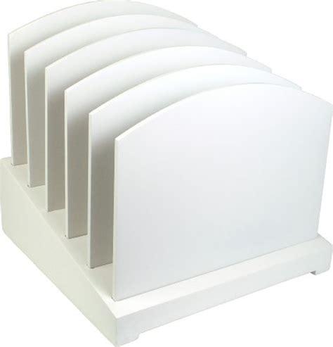 White Desk Organizers White File Organizer Wood Desk Organizer Office Supplies Filing Organization