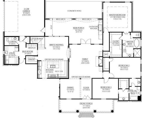rec room floor plans maybe an upstairs with 2 bedrooms 2 baths a excercise