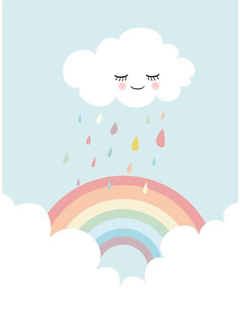 bild kinderzimmer regenbogen bilder kunstdruck bild quot regenbogen quot ein