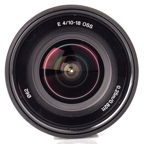 with lenses sony sel 10 18mm f 4 oss lens review