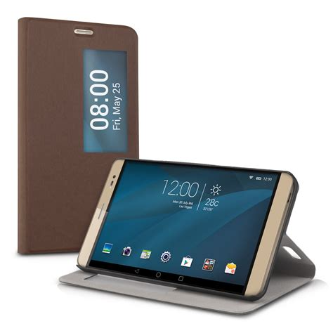 Tablet Huawei X2 kwmobile window synthetic leather flip cover for huawei mediapad x2 7 0 ebay