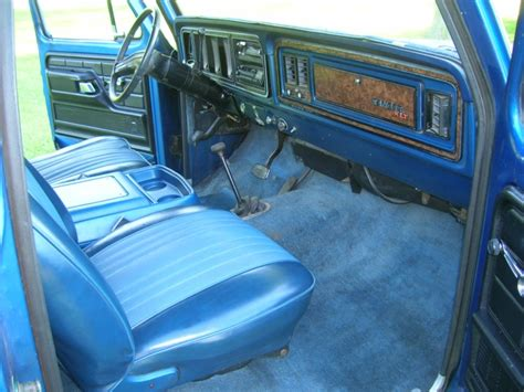 79 Ford Bronco Interior by 1978 Bronco Ranger Xlt Blue White Top 4x4 Automatic 78