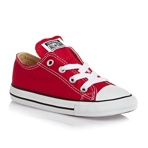 childrens converse sneakers converse chuck all classic ox canvas