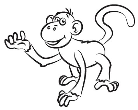even a monkey can draw artists corner how to draw a monkey