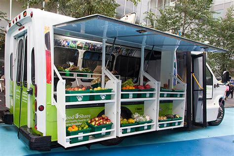i mobile market converted into mobile food market brings fresh produce